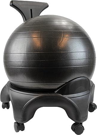 POWRX – Oficina Fitness – Silla con asiento de pelota Fitness ...