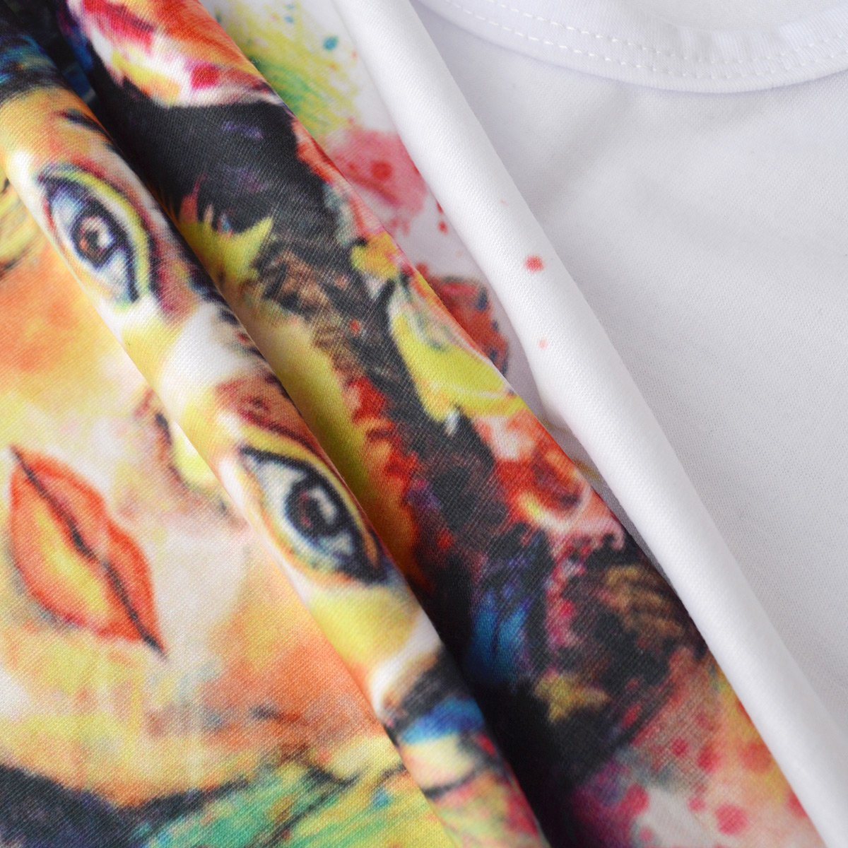 Jahurto Camiseta para Mujer de Manga Corta Artista Mexicana Frida Kahlo Personalizada (Color : White, tamaño : S): Amazon.es: Ropa y accesorios