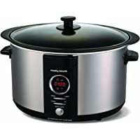 Morphy Richards Accents 461003 Digital Sear and Stew Slow Cooker, 6.5 L
