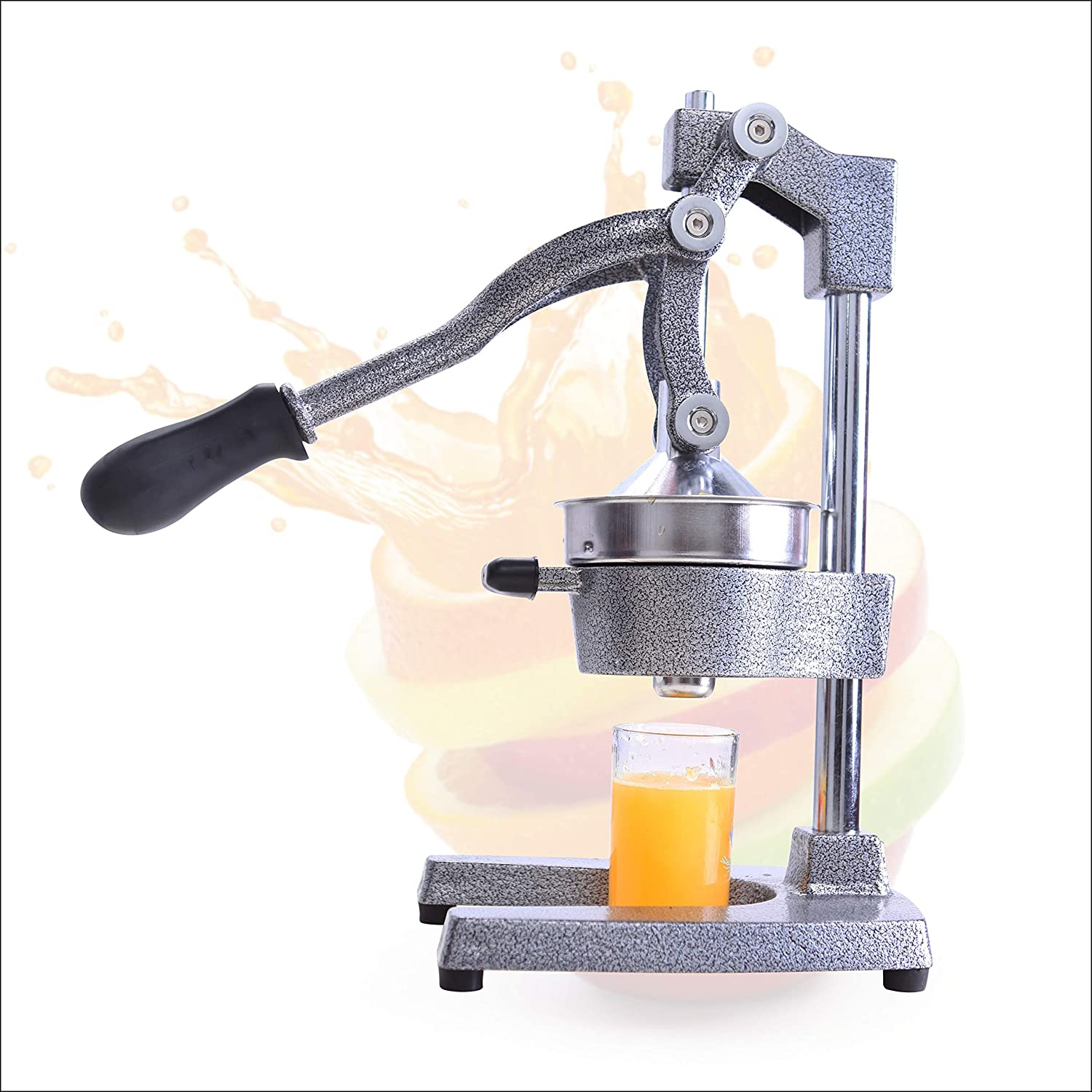 ARC USA, Juicer Press Squeezer, Manual Hand Press, Professional Fruit Juicer, Heavy Duty, Orange Juicer, Citrus Juicer, Lime Squeezer Press Stand, Commercial Grade Hand Press Extractor
