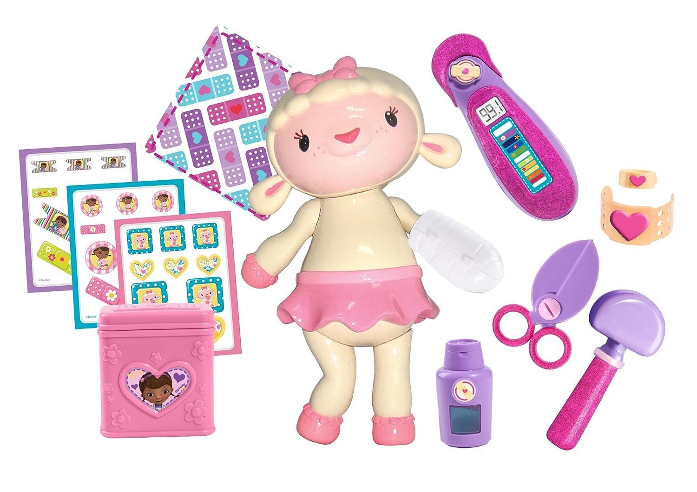 amazon com doc mcstuffins make me better lambie set toys u0026 games