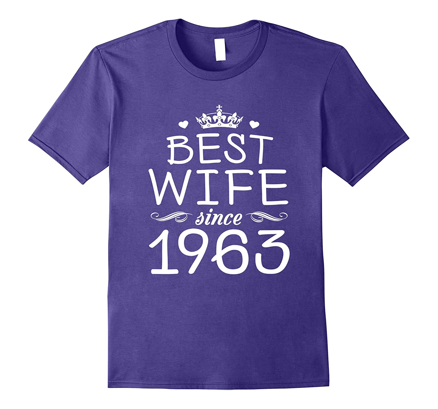 54th Wedding Anniversary Gift Ideas For Her-Wife Since 1963-PL