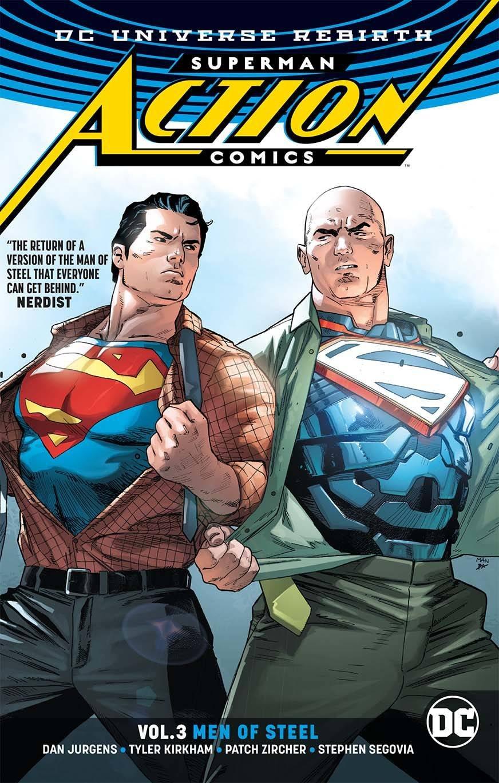 Download SUPERMAN ACTION COMICS TP VOL 03 MEN OF STEEL (REBIRTH) PDF ePub fb2 ebook
