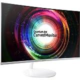 Samsung C32H711 32-Inch WQHD QLED Curved Monitor (360 Degree Design)