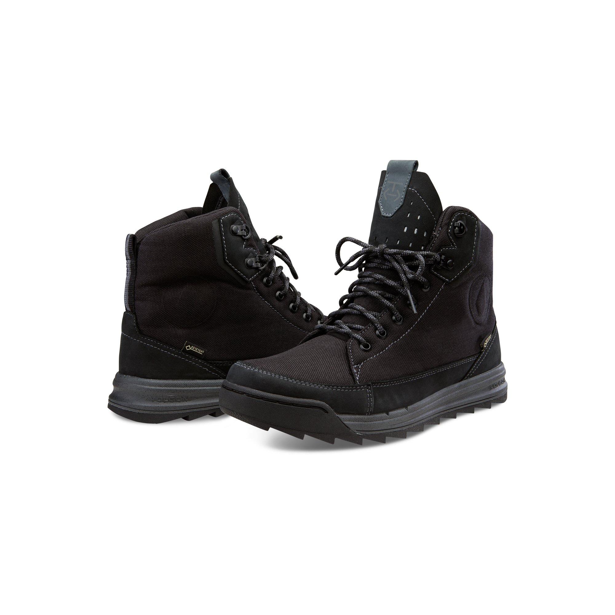 Volcom Men's Roughington GTX Boot Winter, New Black, 8 US/8 D US