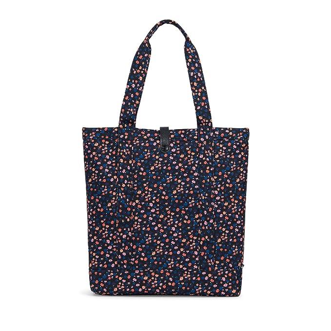 c03ed61dee0 Amazon.com   Herschel Market Tote, Mini Floral Black Leather   Travel  Duffels