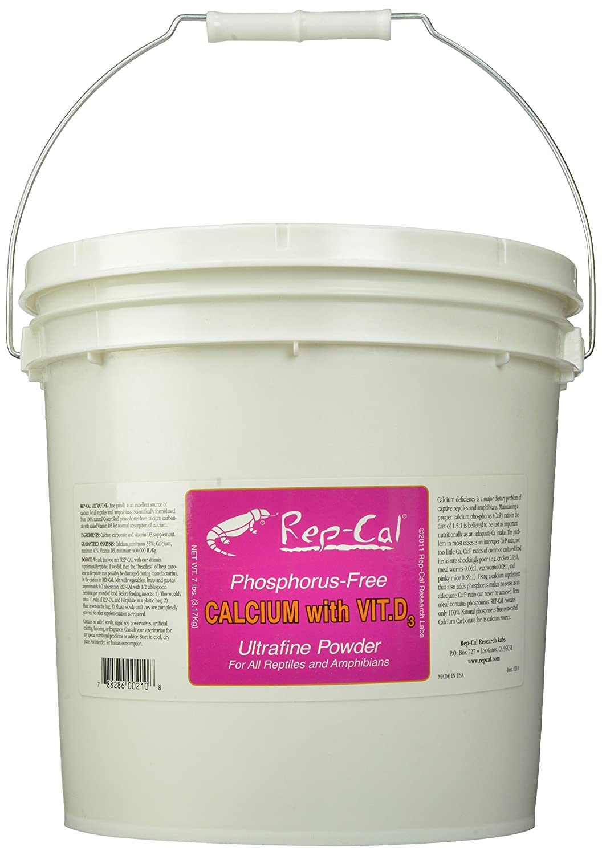 Rep-Cal Rep-Cal SRP00210 Phosphorous-Free 7 Calcium Ultrafine Vitamin Powder Reptile/Amphibian Supplement with Vitamin D3, 7 lb by Rep-Cal B006OP6GBM, 優部品:e26435ea --- ijpba.info