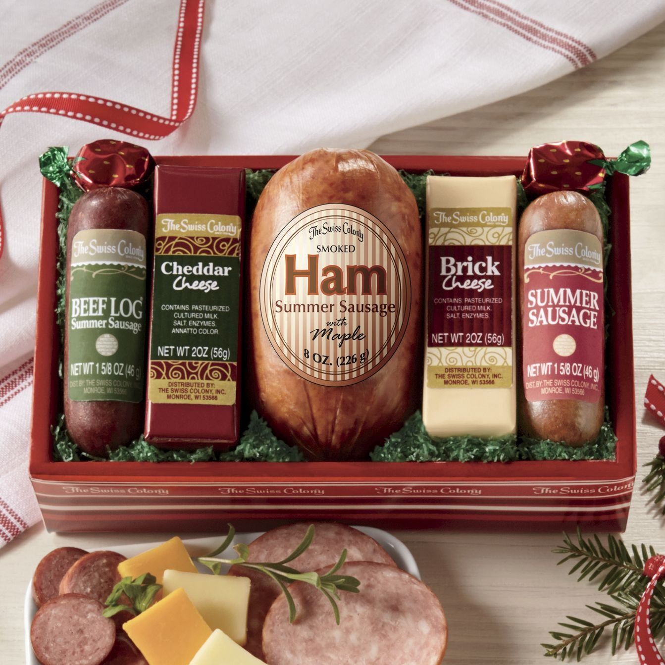 The Swiss Colony High Five Ham Gift Assortment from
