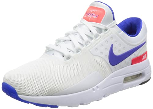 new product 8adfe c4ac0 Nike Men's Air Max Zero QS, Ultra Marine-White/Ultramarine-Solar RED ...