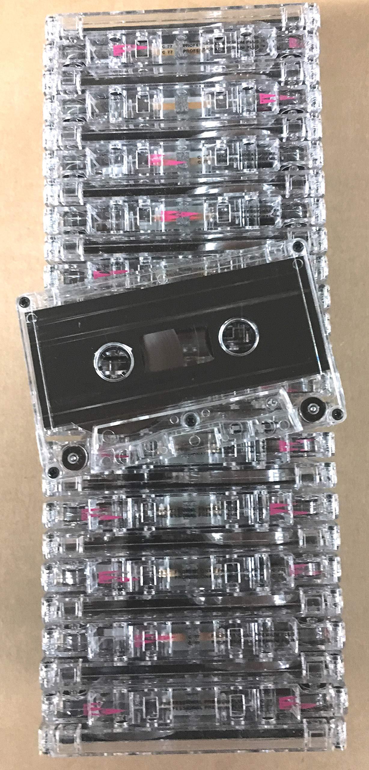 25pk - NRS HIGH ENERGY C-77 Minute Blank Bulk Normal Bias Cassettes