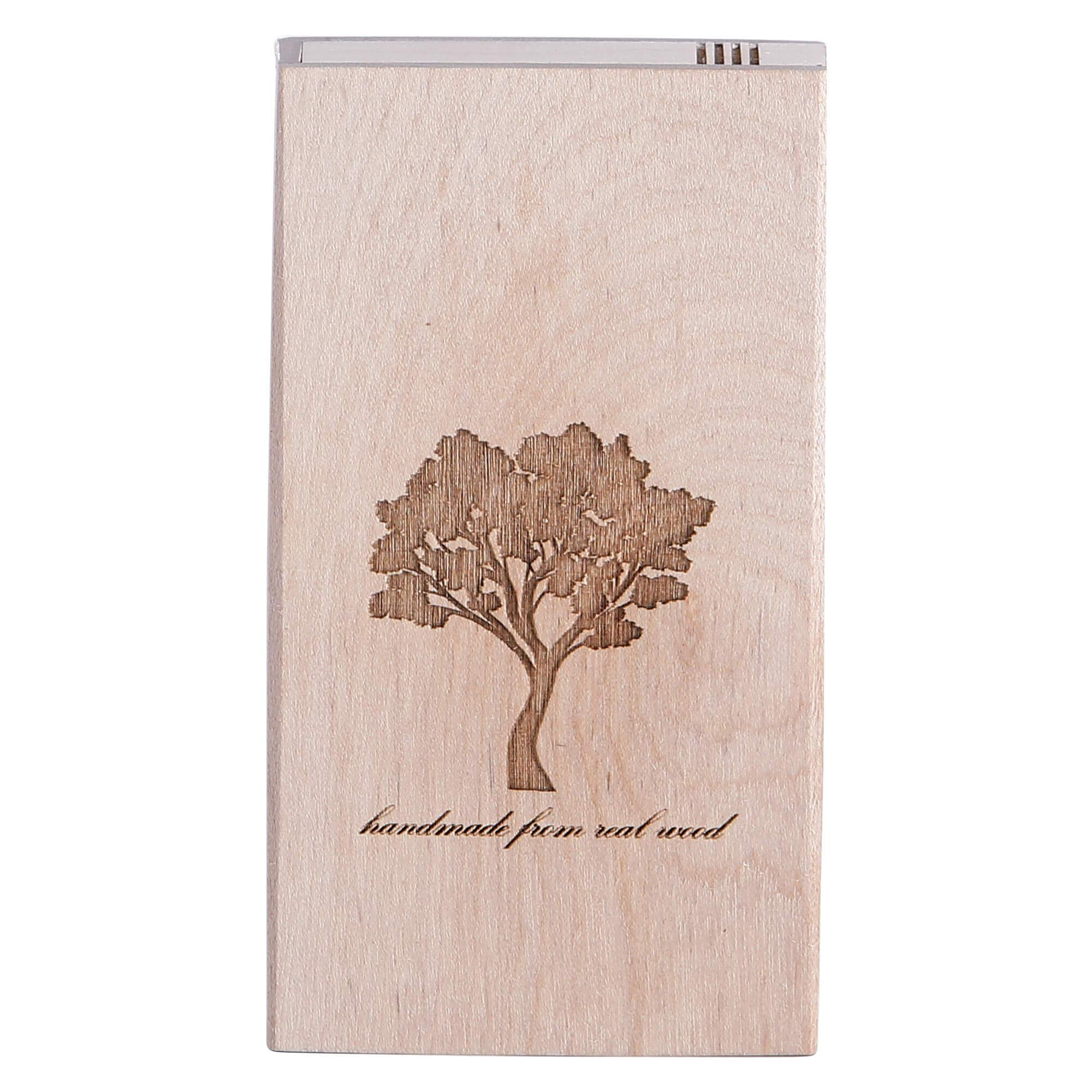 Value Handmade Handcrafted Slim Wooden Cigarette Box, Pocket Carrying Cigarette Case, Brown (Maple Wood) by Value Handmade (Image #1)