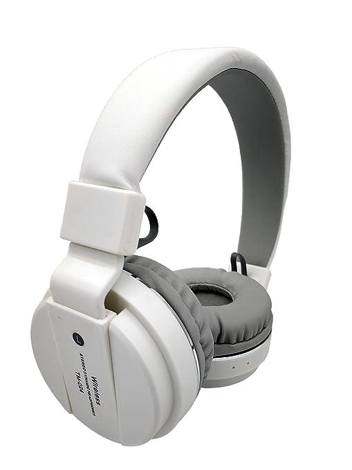 Auriculares Diadema Auriculares Plegables, Auriculares Inalámbricos Bluetooth con Micrófono, Cascos Bluetooth Audio de Alta