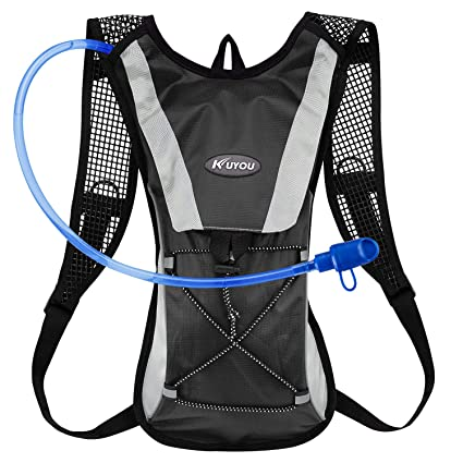 9414848b31 KUYOU Hydration Pack Water Rucksack Backpack Bladder Bag Cycling Bicycle  Bike/Hiking Climbing Pouch +