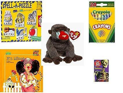 Amazon.com  Children s Gift Bundle - Ages 3-5  5 Piece  - Spell A ... d2a7d220f49