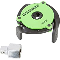 """OEMTOOLS 25101 Green 2.4"""" to 3.6"""" Adjustable Magnetic Oil Filter Wrench (3-Jaw)"""