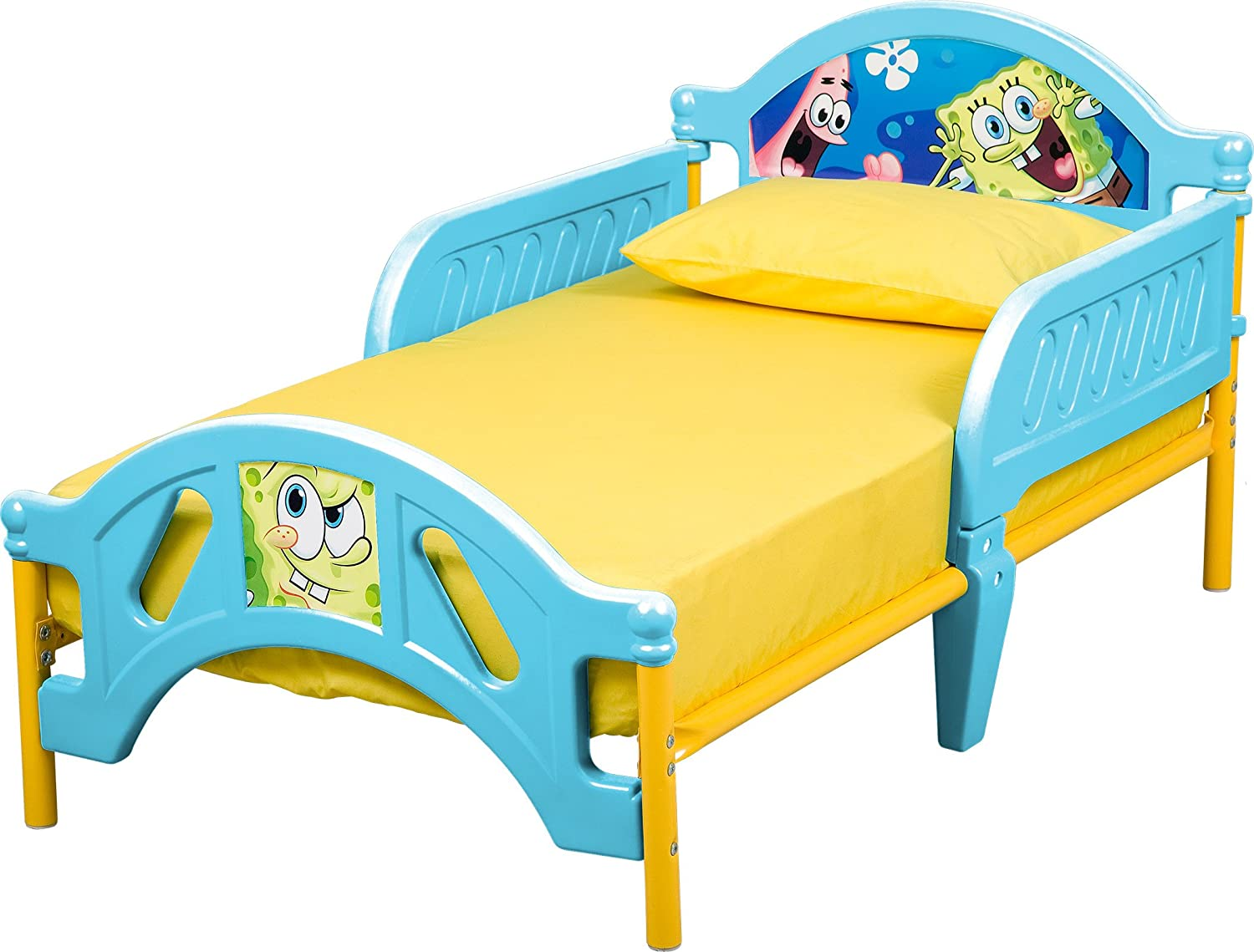 . Amazon com  Nickelodeon Sponge Bob Toddler Bed  Toys   Games