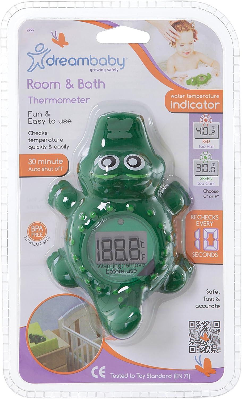 Termómetros de habitación y bañó Dreambaby (cocodrilo)