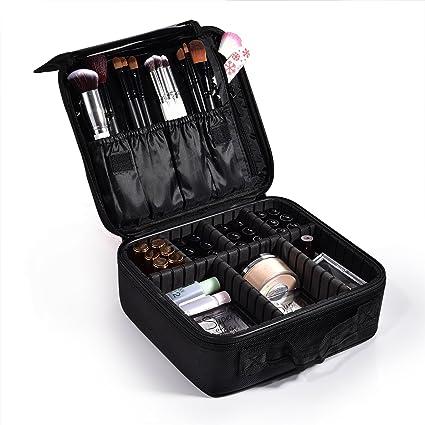 Maletín Maquillaje Profesional Estuche Maquillaje Kit Maquillaje Set Maquillaje Neceser Maquillaje Organizador Caja Maquillaje Organizador Maletín Para manicura Organizador Esmaltes uñas Vacío Mujer: Amazon.es: Belleza