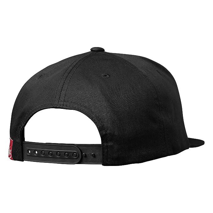 8255e7d4a9b5b eS  s Black-Red Script Snapback Cap (Default