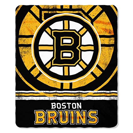 The Northwest Company NHL Boston Bruins Fleece Fade Away Throw Blanket 50- inch by 60 9f60a4ede