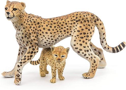 animal sauvage Schleich 14774 Noir Panther Wild Life jeu personnage Prédateur