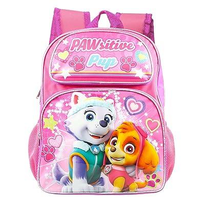 "New Arrive Paw Patrol Girls Pink Pup Power! 16"" Backpack | Kids' Backpacks"