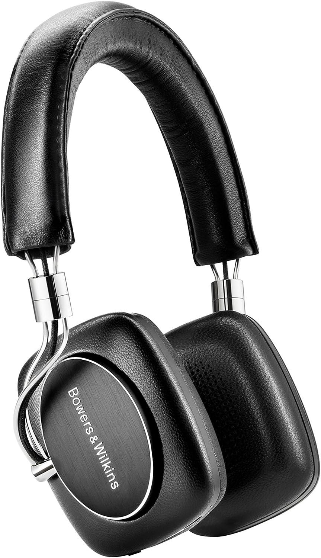 Bowers Wilkins P5 Wireless Bluetooth On-Ear Headphones, Black