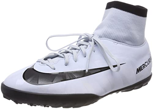 NIKE MERCURIALX VICTORY VI CR7 DF TURF JUNIOR 903601-401 BIANCO - Scarpa da  calcetto d97264e8590