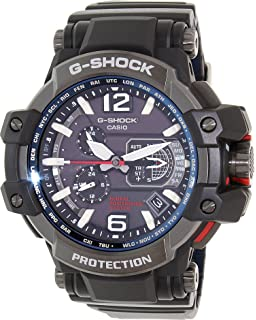 Casio Mens G-Shock GPW1000-1A Black Resin Quartz Watch
