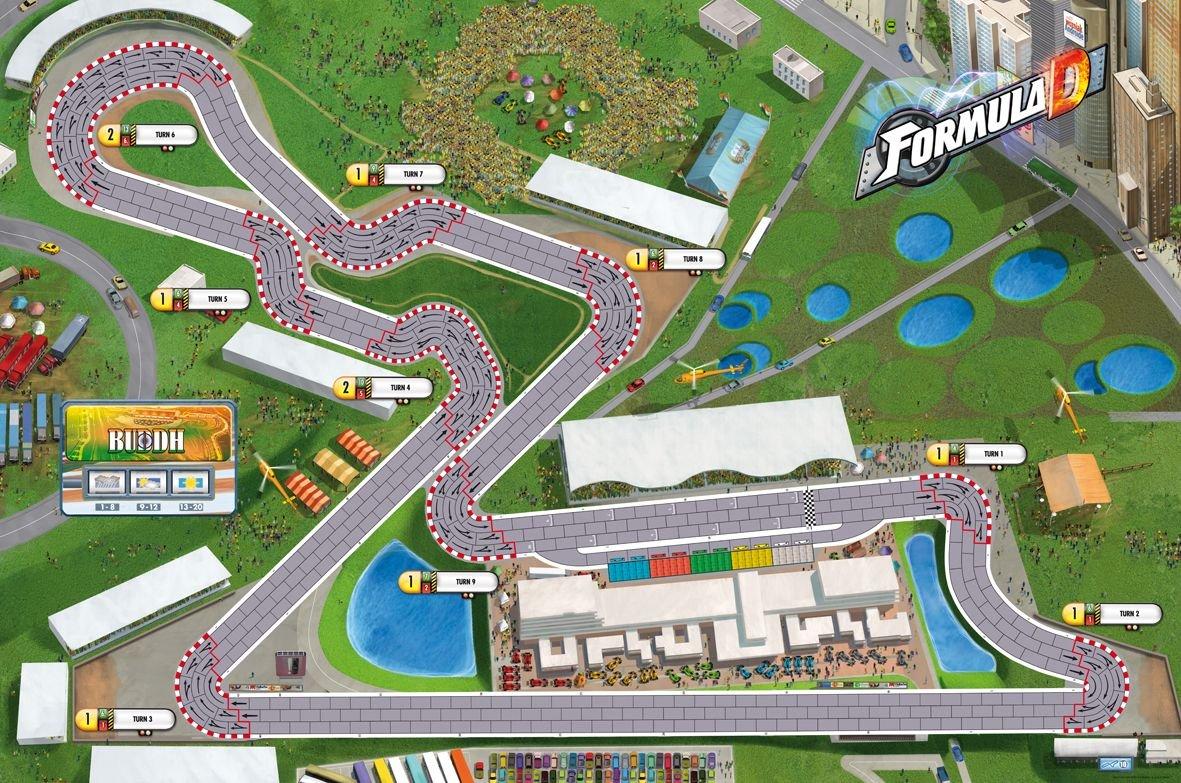 Circuits Austin Et Nevada Ride Asmodee Jeu de Strat/égie FDC6 Formula D