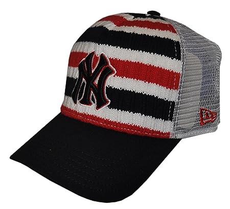 New Era - NY Yankees Multi-Coloured Stripes Snapback Cap (AC1110)   Amazon.co.uk  Kitchen   Home 06773ab697c3