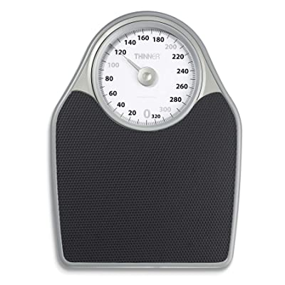 Thinner Extra-Large Dial Analog Precision Bathroom Scale