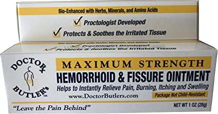 Hemorrhoid ointment, Over the counter hemorrhoid cream