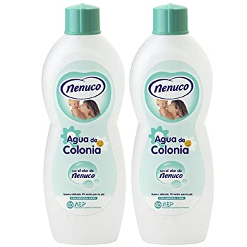 2 Nenuco Baby Cologne Agua De Colonia 20oz./600ml