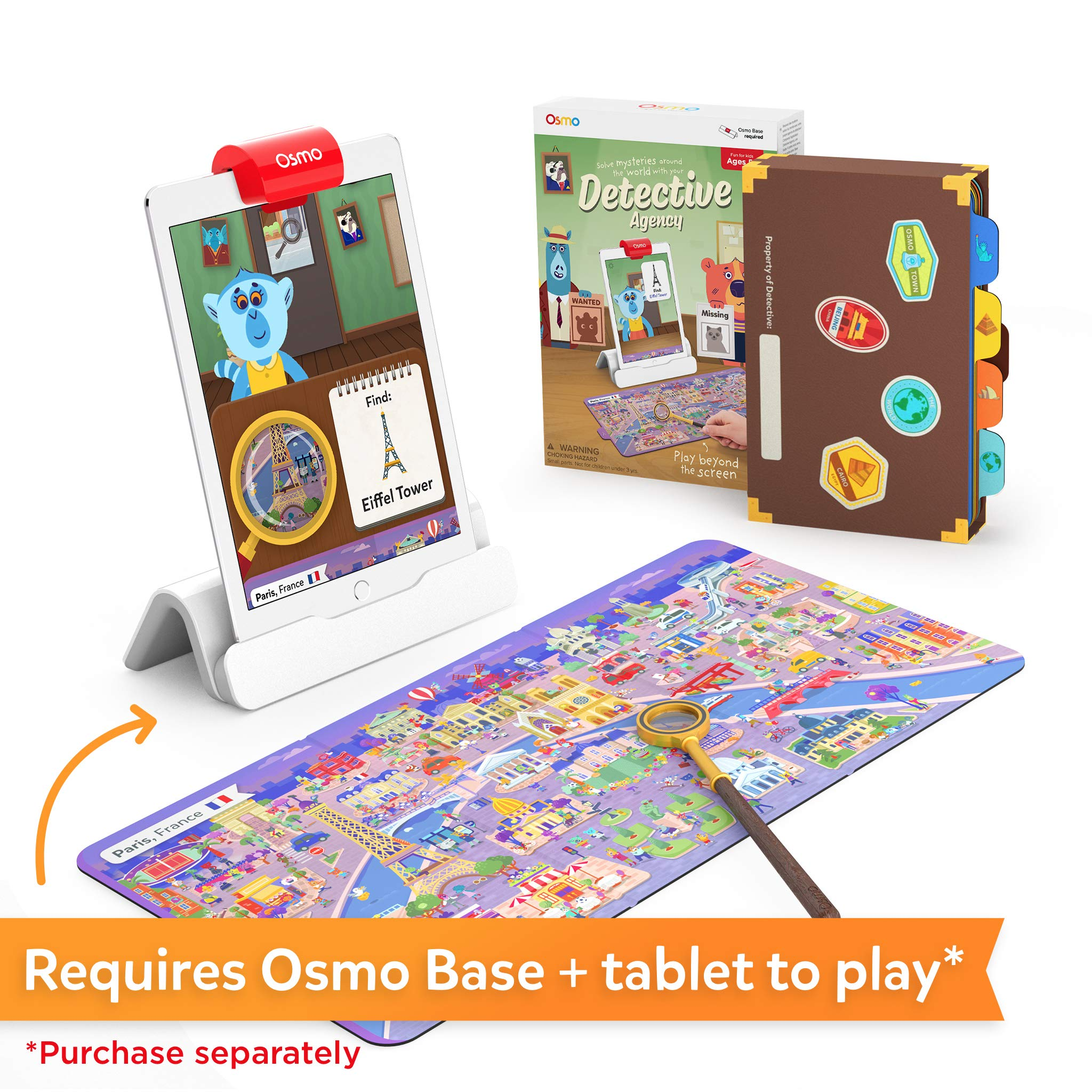 Osmo - Detective Agency: A Search & Find Mystery Game - Ages 5-12 - Explore The World - For iPad and Fire Tablet (Osmo Base Required) by Osmo (Image #2)
