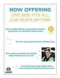 NoBob Child Car Seat Head Support & Travel
