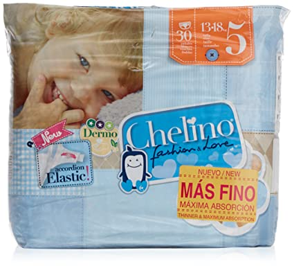 Pañal chelino love t - 5 pasitos 30 un