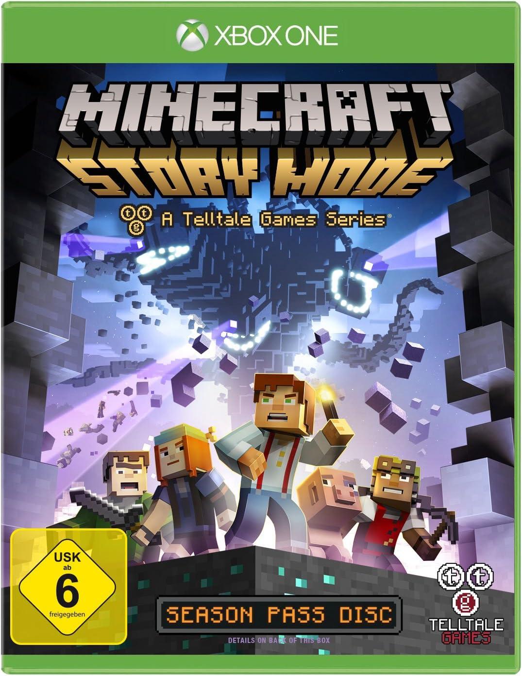 Telltale Games Minecraft Story Mode, Xbox One Básico Xbox One ...