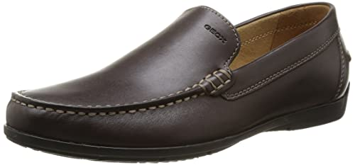 Geox U Siron, Mocasines para Hombre, Marrón (Coffee C6009), 39 EU: Amazon.es: Zapatos y complementos