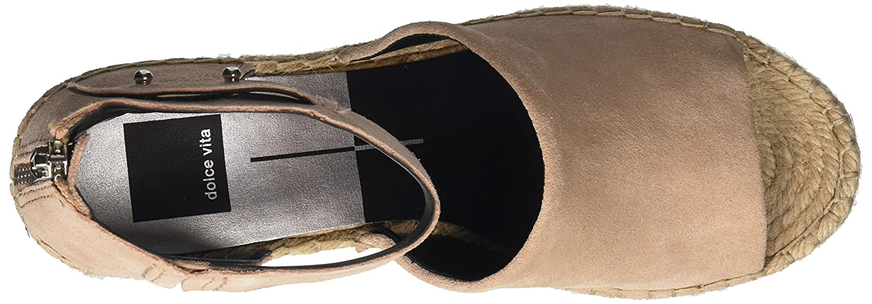 da514967bf8 Amazon.com  Dolce Vita Women s Straw Wedge Sandal  Dolce Vita  Shoes