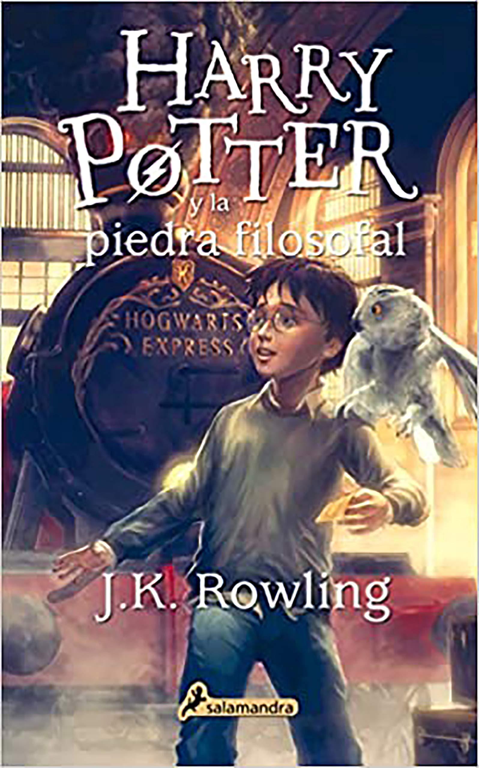 Harry Potter y la piedra filosofal Harry 01 Spanish Edition by ...