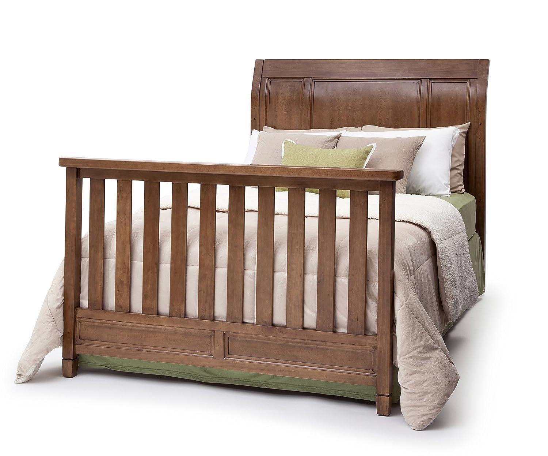 Baby bed furniture - Amazon Com Simmons Kids 5 Piece Nursery Furniture Set Crib 7 Drawer Dresser Changing Top Toddler Guardrail Full Size Conversion Kit