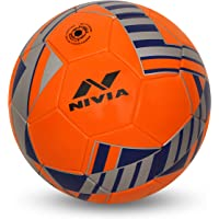 NIVIA - - Step Out & Play Blade Machine Stitched Football (Orange)