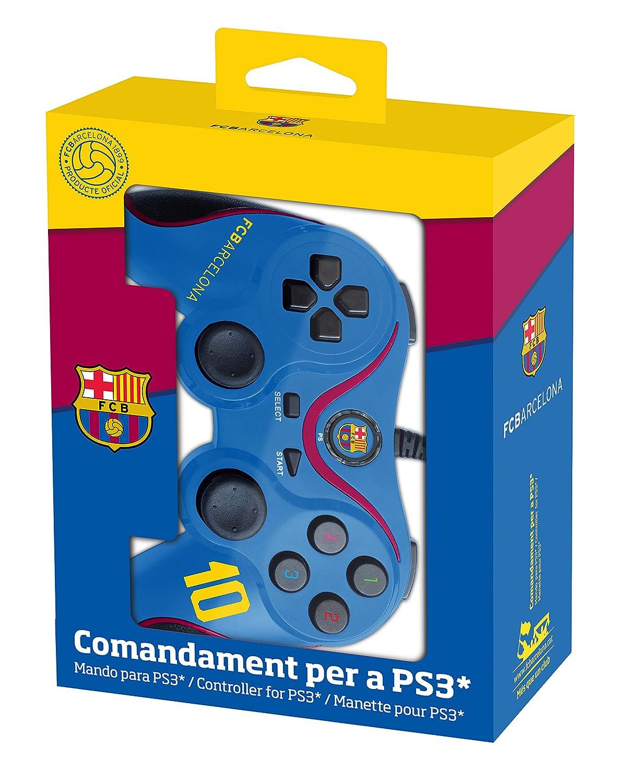 Nobilis - Mando Con Licencia Fc Barcelona (PS 3): sony ...