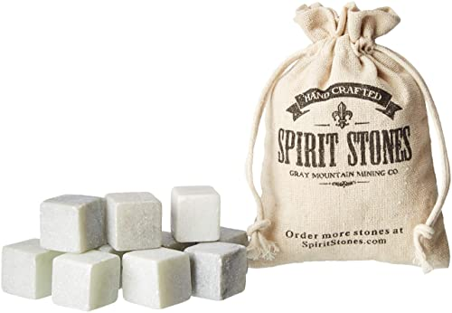 Spirit Stones Whiskey Stones Pack of 10