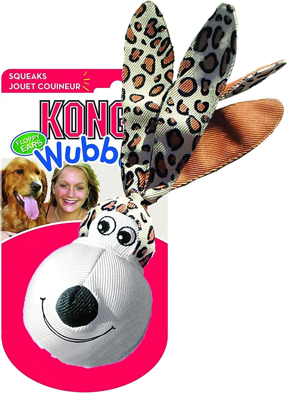 KONG - Wubba Floppy Ears - Juguete Interactivo sonoro - para ...