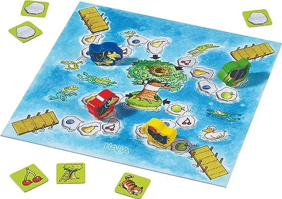 HABA-MI Gran Coleccion DE Juegos EL FRUTAL-OBSTGARDEN, Multicolor (302282): Amazon.es: Juguetes y juegos