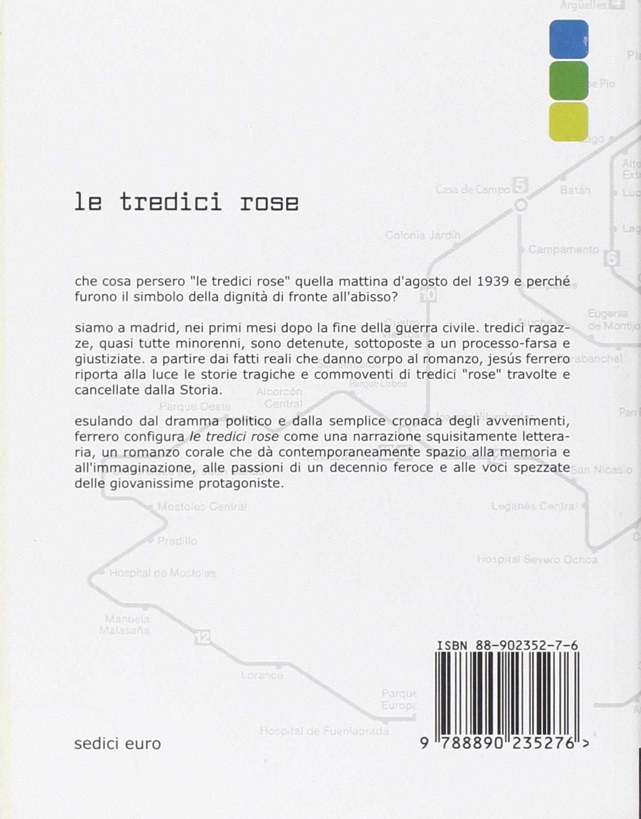 Amazon.com: Le tredici rose (9788890235276): Jesús. Ferrero ...