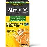 Schiff 旭福 Airborne 维生素C混合 橙味咀嚼片 Airborne (1盒64粒)