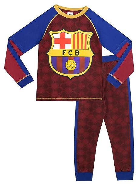 Barcelona FC - Pijama para Niños - 8 a 9 Años  Amazon.es  Ropa y accesorios 6e00710edd9